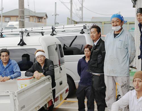 《職人ワーク限定入社祝い金5万円支給》塗装・防水職人の募集!