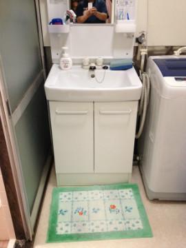 施工後の写真【洗面台】