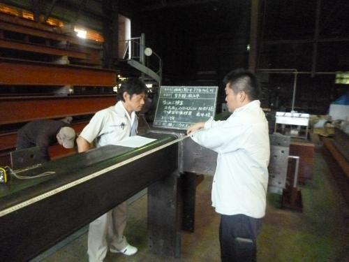 鉄骨製作スタッフの募集!原料仕入などにも携われます。
