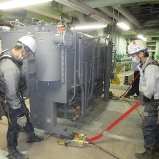 ゼネコン現場にて空調機器などの据付・撤去作業!